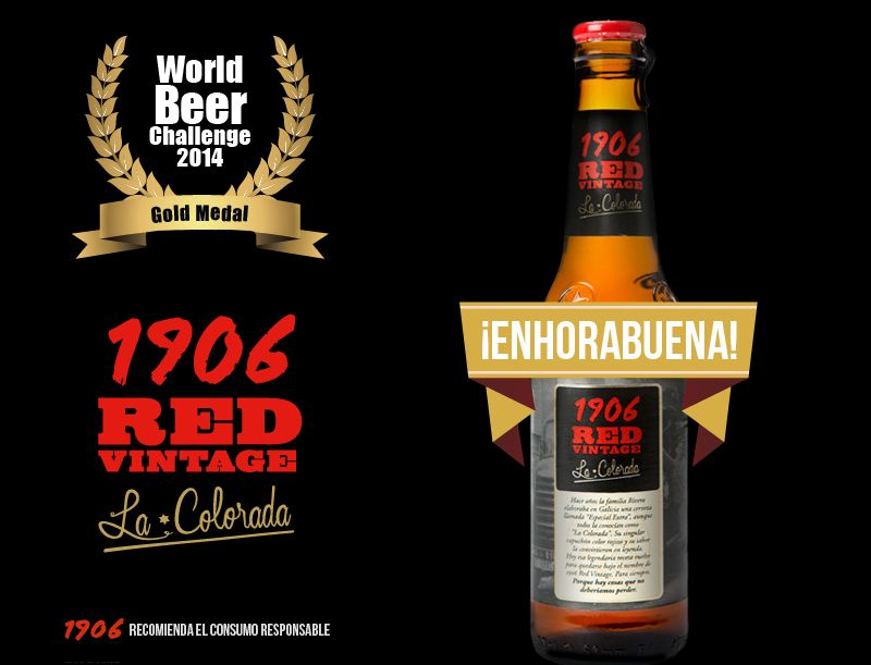 World Beer Challenge 2014. 1906 Red Vintage La Coloradas