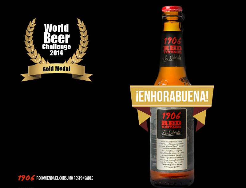 World Beer Challenge 2014. 1906 Red Vintage 'La Colorada'