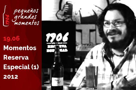 Raimundo Amador en 1906 Momentos Reserva Especial 2012