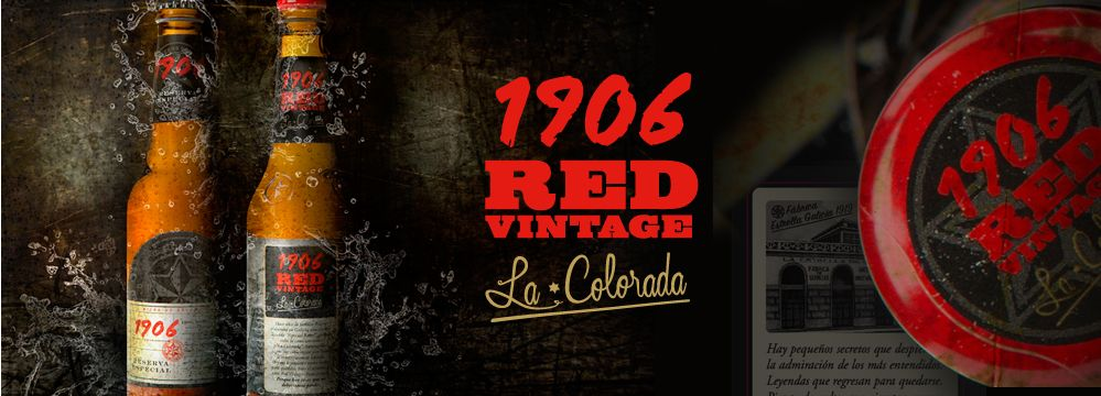 1906 Red Vintage. La Colorada