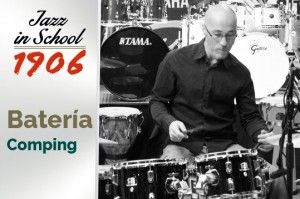 David Fernández. Batería. Jazz in School