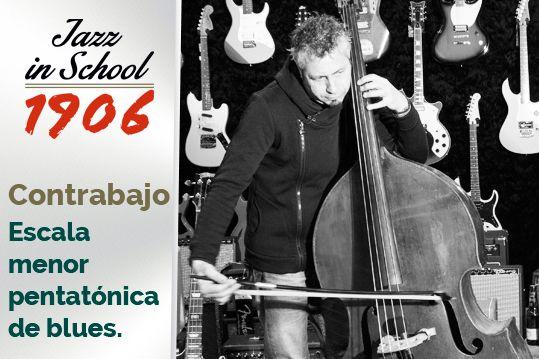 José Miguel Garzón. Contrabajo. Jazz in School