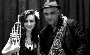 Andrea Motis y Joan Chamorro