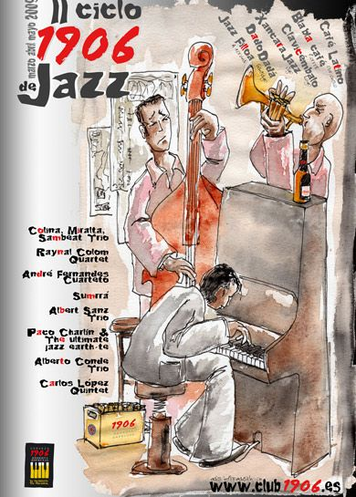 Cartel lI Ciclo 1906 Jazz