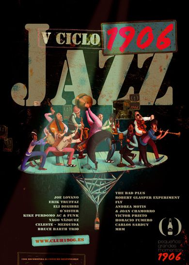 Cartel V Ciclo 1906 Jazz