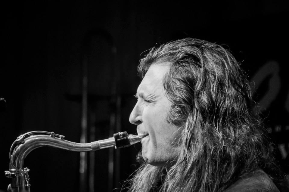 Jorge Pardo en concierto en el Café Latino.