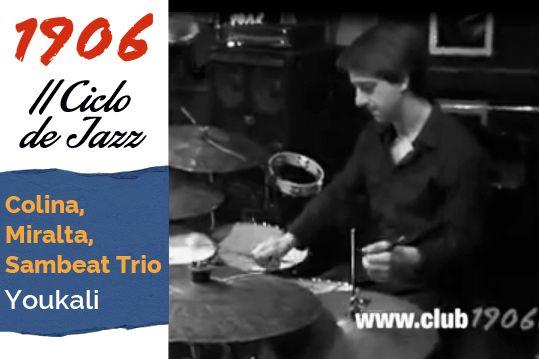 Concierto de Colina, Miralta, Sambeat Trio en Café Latino. Tema Youkali