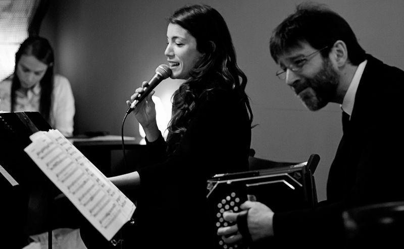 Marcelo Mercadante y Ana Rossi