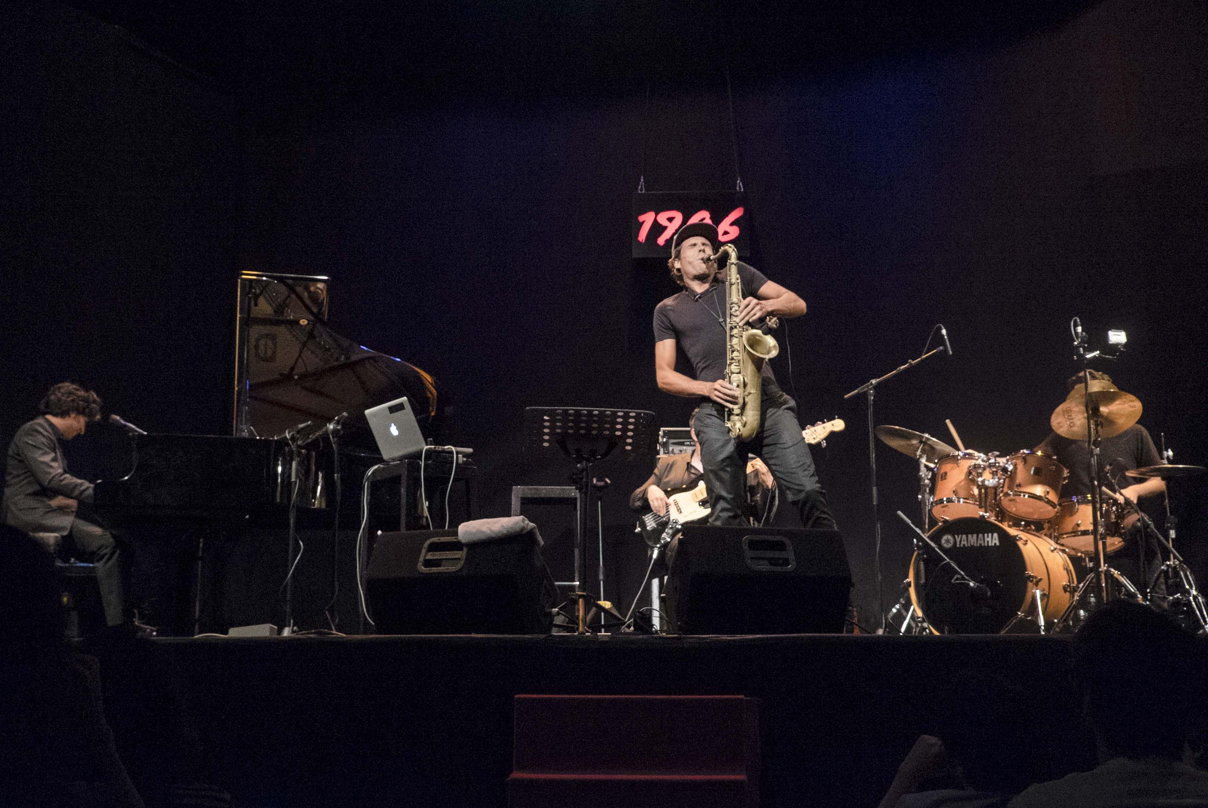 Diego Amador Trío y Llibert Fortuny Teatro Lara 19 junio 2014 Vii Ciclo 1906 Jazz Fotografía Jaime Massieu 03