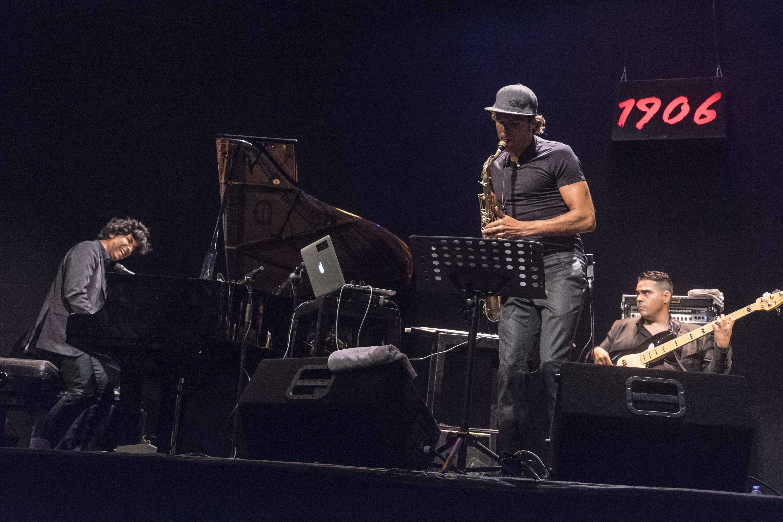 Diego Amador Trío y Llibert Fortuny Teatro Lara 19 junio 2014 Vii Ciclo 1906 Jazz Fotografía Jaime Massieu 04