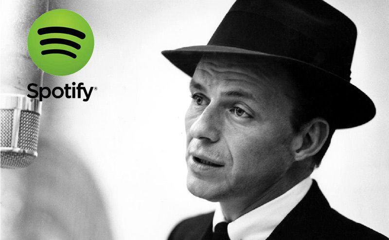 Frank Sinatra. Los Mejores Crooners. Listas Spotify