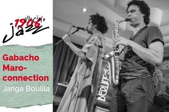 Gabacho Maroconnection en concierto, Café Berlín. Tema: Janga Boulila