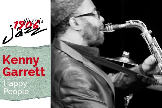 Kenny Garrett en concierto en el Teatro Lara. Tema: Happy people