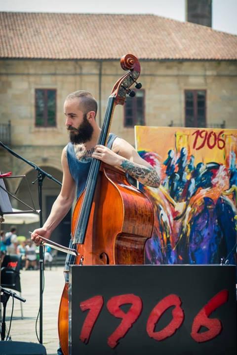 Maratón Jazz gallego 19 junio 2014 Plaza de la Quintana Santiago de Compostela Foto: Gimena Berenguer 05