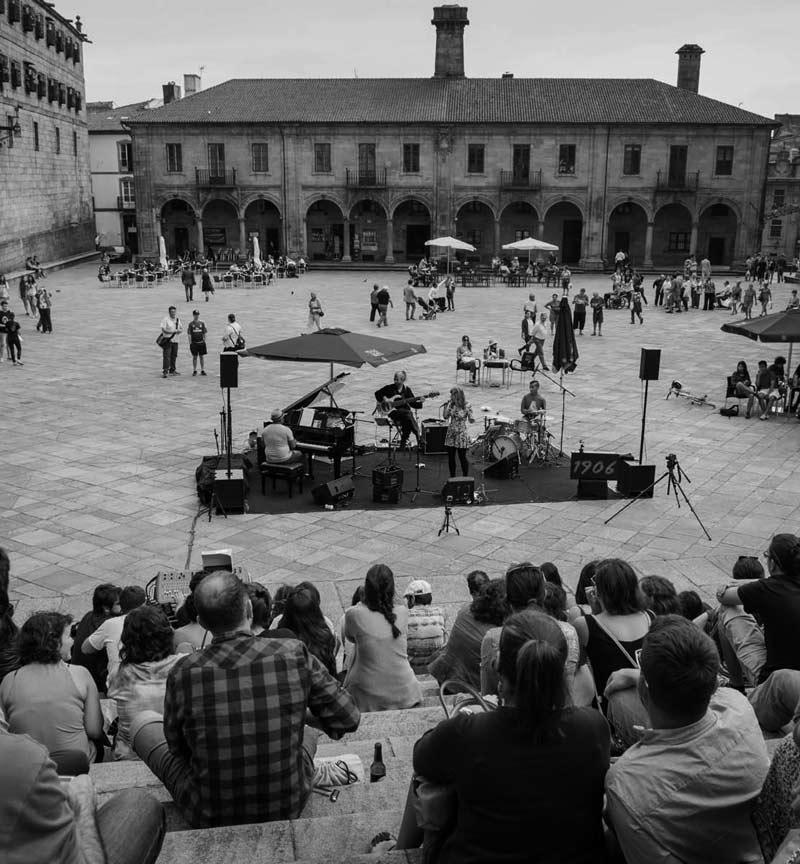 Maraton de Jazz Gallego en Santiago de Compostela Clausura VII Ciclo 1906 de Jazz 19 junio 2014