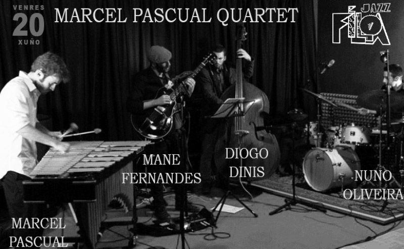 Marcel Pascual Quartet en Jazz Filloa el 20 de junio de 2014
