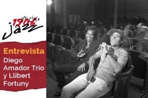 Diego Amador Trío y Llibert Fortuny en el Teatro Lara. Entrevista
