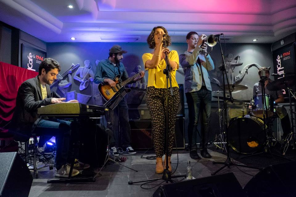 Rachel Brotman Quintet Café Berlín Madrid 13 junio 2014 Foto: Jaime Massieu 02