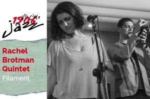 Rachel Brotman Quintet en concierto en el Café Berlín. Tema: Filament