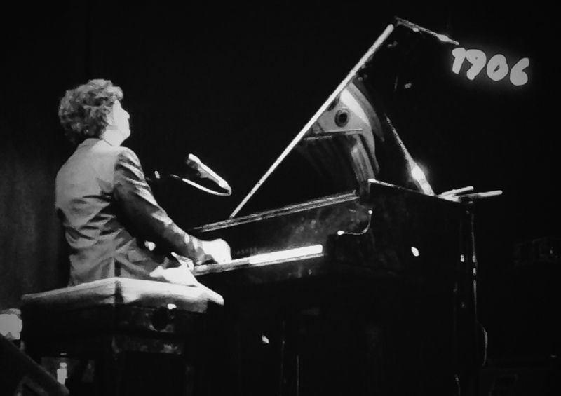 Diego Amador Trío y Llibert Fortuny en el Teatro Lara de Madrid el 19 de junio de 2014 Clausura VII Ciclo 1906 de Jazz