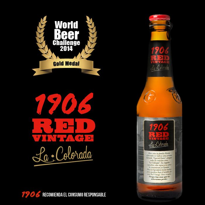 1906 Red Vintage 'La Colorada'. World Beer Challenge 2014