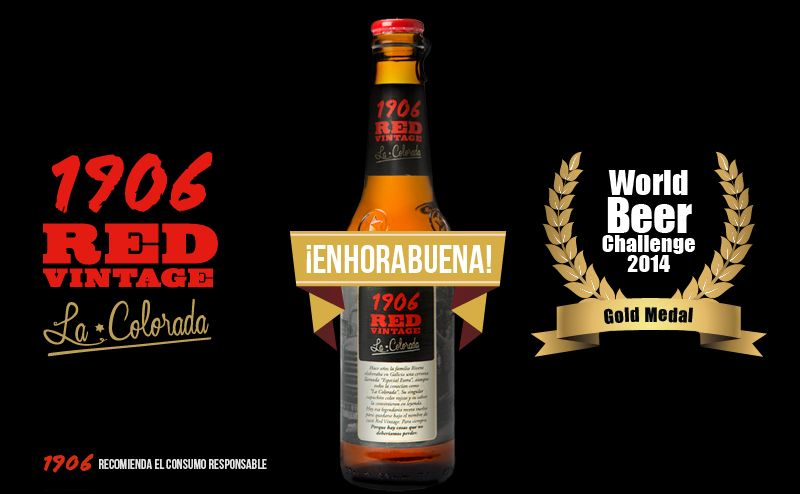World Beer Challenge 2014 para 1906 Red Vintage 'La Colorada'