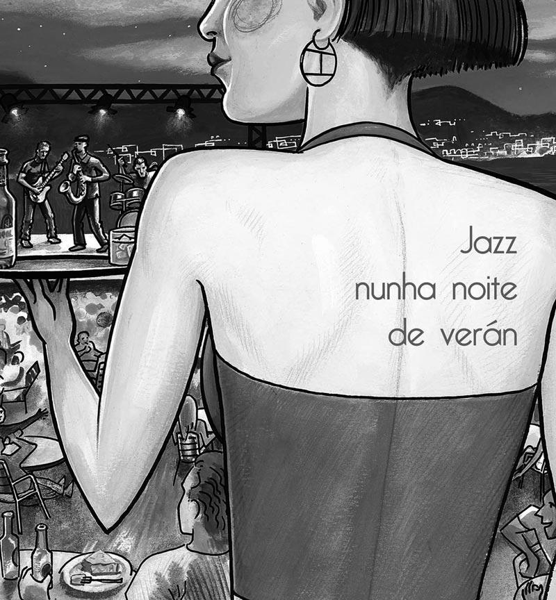 Ciclo Jazz Nunha Noite de Verán en Bar O Pósito 3