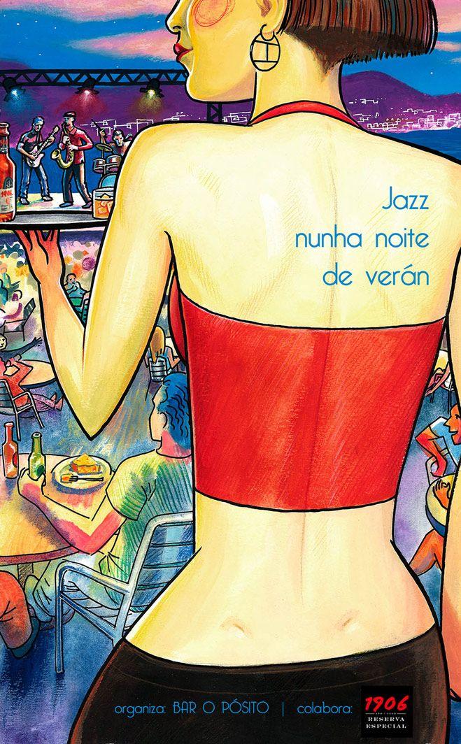 Ciclo Jazz Nunha Noite de Verán en Bar O Pósito