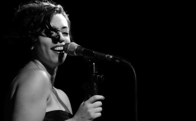 Barcelona Big Blues Band y Myriam Swanson en la sala Jamboree el 28 de septiembre de 2014