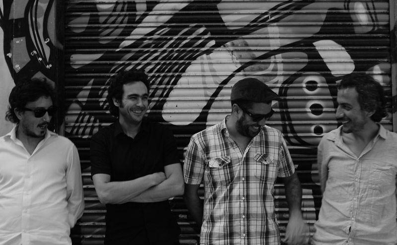 Luca Tondena Quartet en Jamboree el 30 de septiembre de 2014