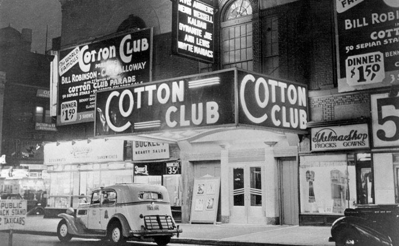 Cotton Club en Las Mejores Salas de Jazz de la Historia 2
