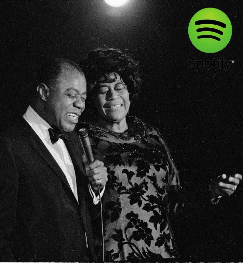 Ella Fitzgerald y Louis Armstrong en Listas Spotify: Los Mejores Standards de Jazz 1