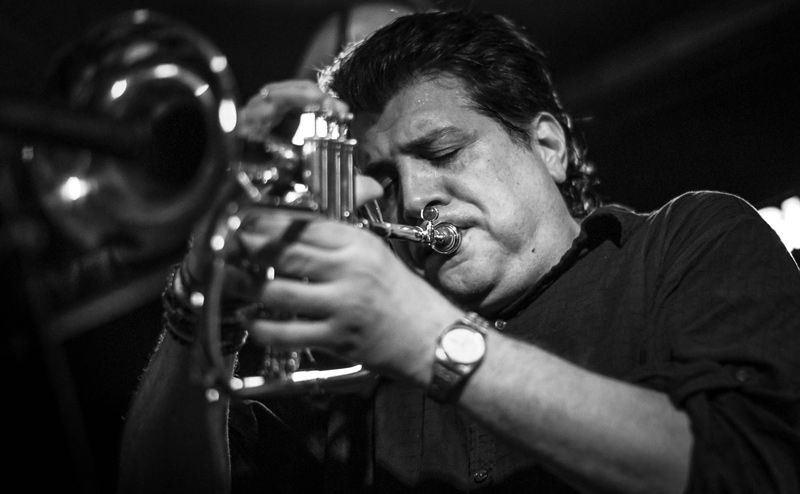 Magnarelli Sambeat Quintet en Jimmy Glass el 14 de octubre de 2014