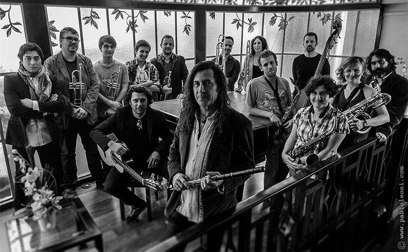 Jorge Pardo & Original Jazz Orquestra en Jamboree el 12 de octubre de 2014
