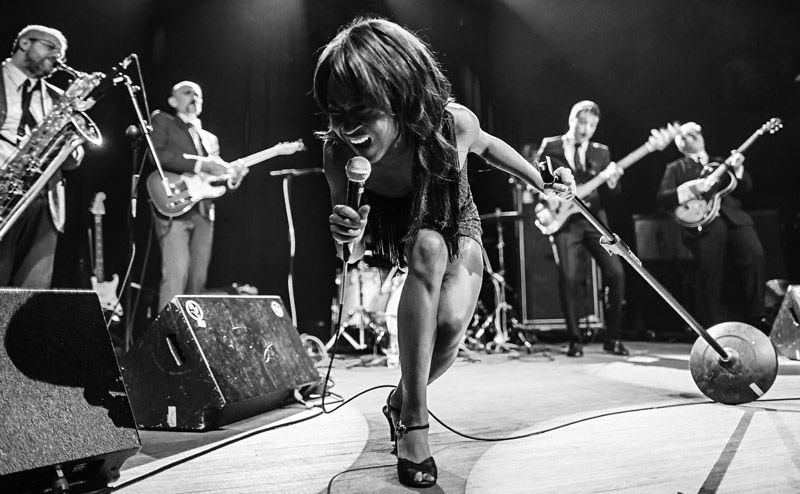 Koko Jean & The Tonics en Jamboree el 9 de octubre de 2014