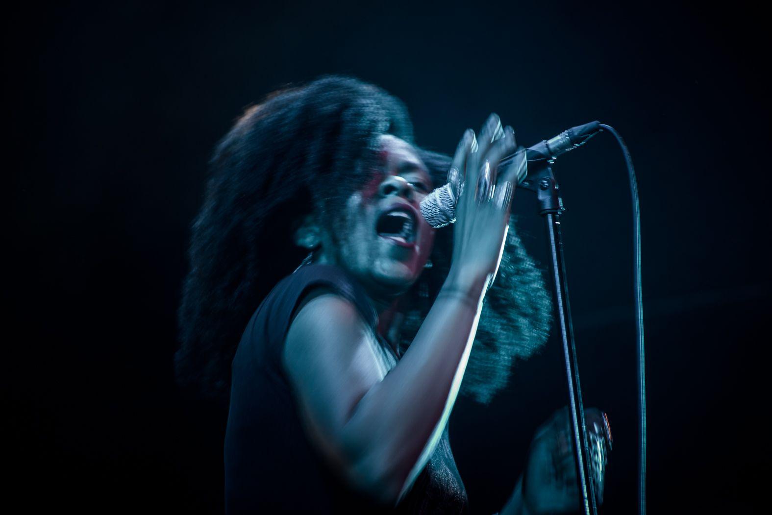 Nikki Hill en Sala Capitol. Fotografía de Gimena Berenguer.