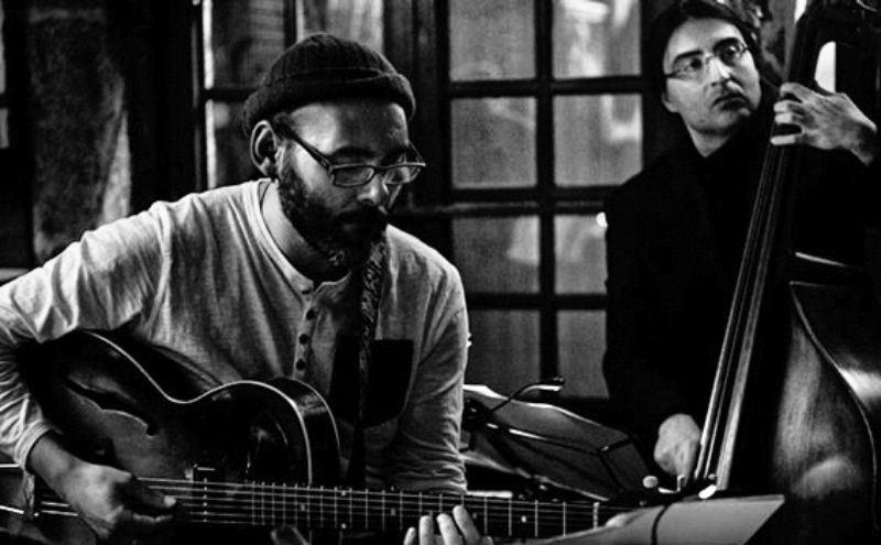 Marcos Pin y Paco Charlín en el Festival de Jazz de Lugo el 10 de noviembre de 2014