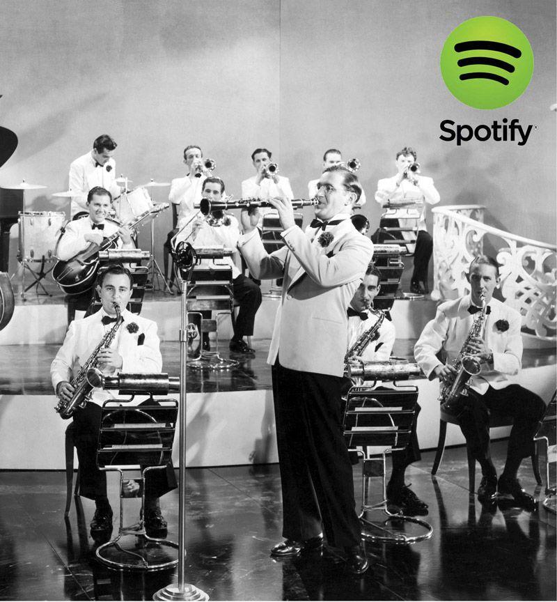 Listas Spotify: Los 20 Mejores Temas de la Era Swing