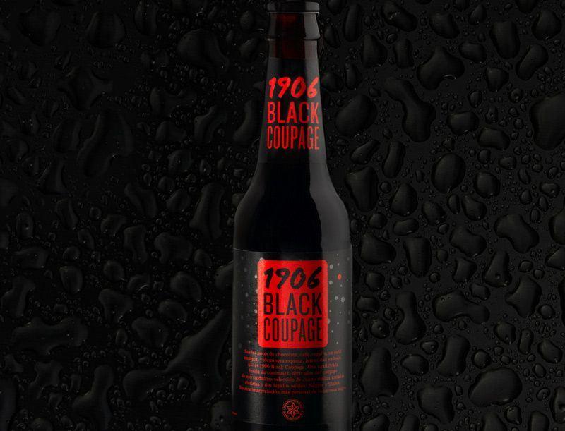Cerveza Negra 1906 Black Coupage