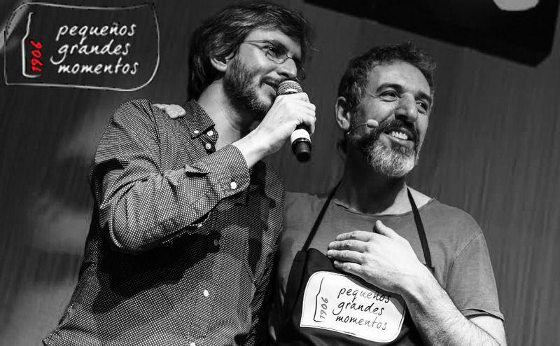 Pequeños Grandes Momentos 1906: Xoel López y Pepe Solla en Playa Club de A Coruña el 16 de diciembre de 2014
