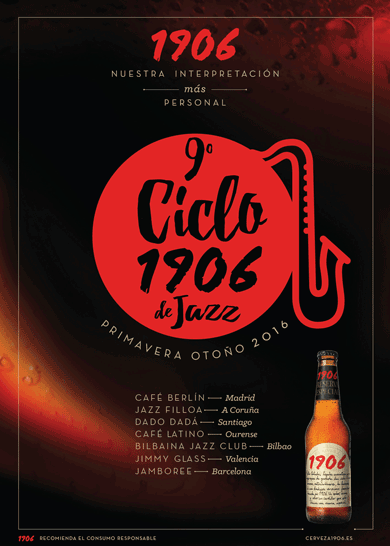 Cartel 9 Ciclo 1906 Jazz
