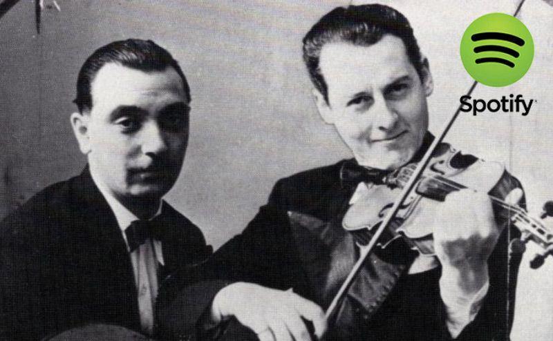 Listas Spotify: Django Reinhardt y Stephane Grappelli