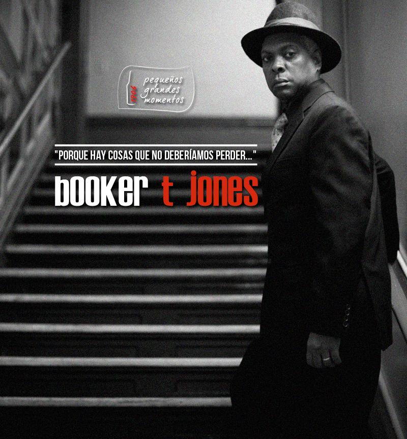 Ganadores de entradas - Concurso Booker T. Jones