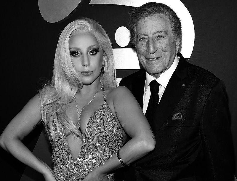 Lady Gaga y Tony Bennett en Jazz Grammys 2015