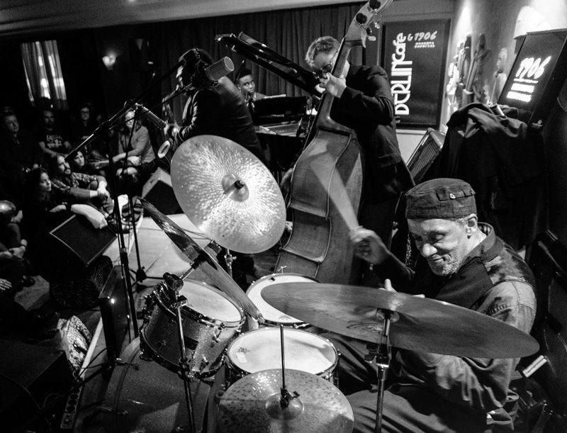 Crónica de Al Foster Quartet. Madrid, Café Berlín. 24 de marzo de 2015.