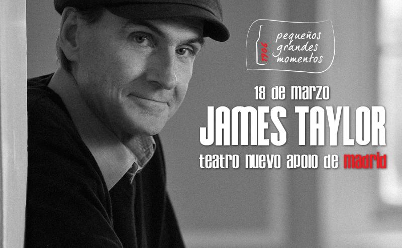 Ganadores entradas James Taylor en Madrid