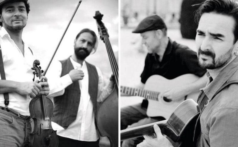 Menilmontant Swing con Gustav Lundgren en Jazzazza