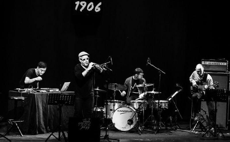 Dave Douglas High Risk en VIII Ciclo 1906 de Jazz. Foto: Jaime Massieu