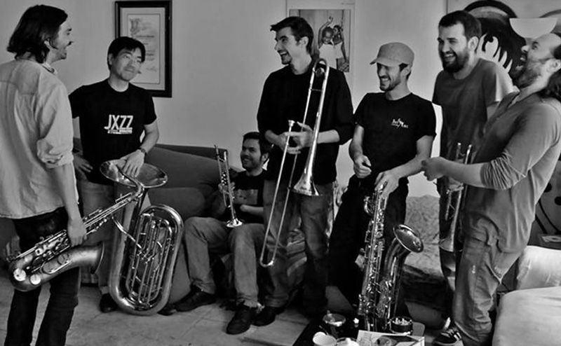 Nola Brass Band en Café Berlín