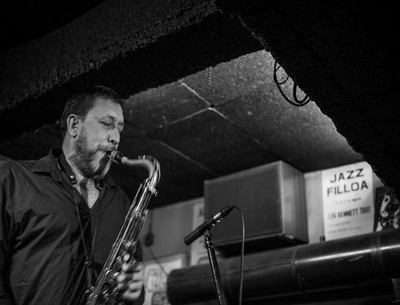 Entrevista a Gorka Benítez Trio. A Coruña, Jazz Filloa. 2 de abril de 2015. Fotografía: Gimena Berenguer